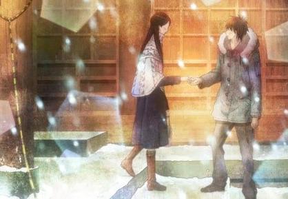 但是却因为这个机会,让爽子和吉田千鹤,矢野有了说话的机会,而爽子也